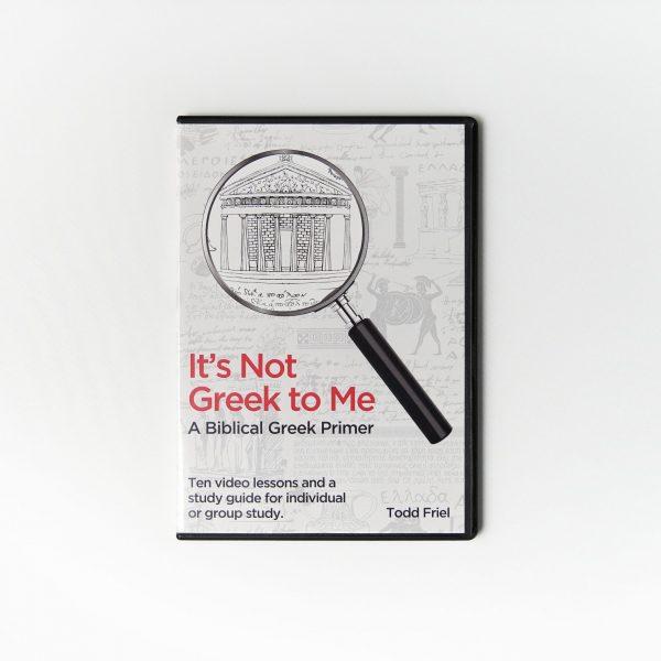 It's Not Greek to Me